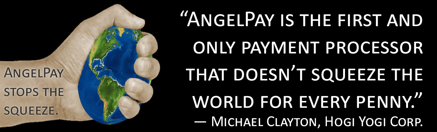 AngelPay Doesn't Squeeze Payment Processing Merchants