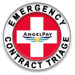 AngelPay Emergency Contract Triage for Merchant Payment Processing Members