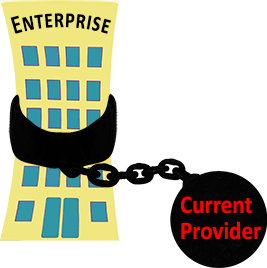 Enterprise Shackled by Current Merchant Service Provider